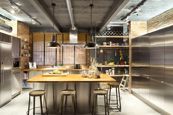 Kitchen de Loft Terra