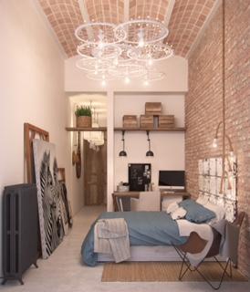 loft bella dormitorio