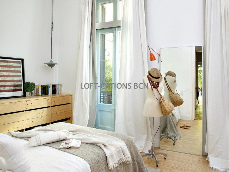 loft yard dormitorio
