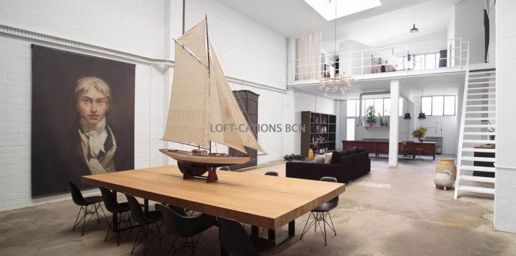 white loft sala